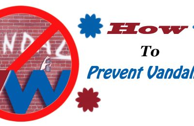 How To Prevent Vandalism