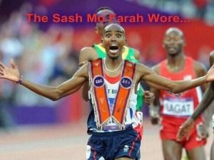 The Sash Mo Farah Wore