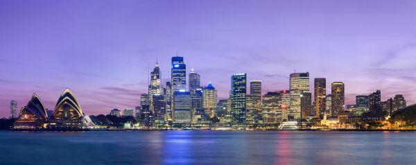 Skyline of Sydney