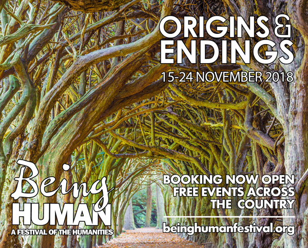 English and Drama events at Being Human Festival 2018