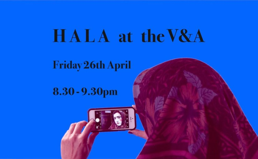 MA Live Art student Şenay Camgöz to present her film HALA at the V&A