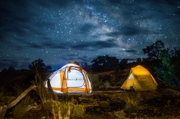 Camping under the stars – Credit NPS / Emily Ogden