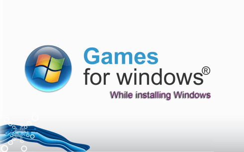 Games For Windows During Installation