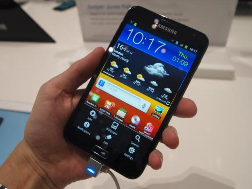 Samsung Galaxy  Note Overview