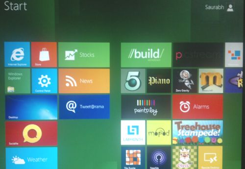 Windows 8 Metro UI