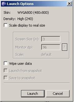 Running Android SDK Eclips