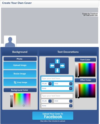 Custom Facebook Cover Maker & Facebook Cover Creator