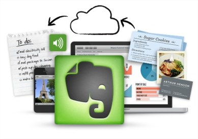 Evernote to save and sync notes Mac Apps