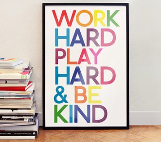 Work hard Blog hard