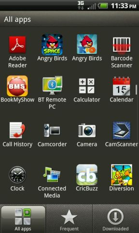 HTC RHYME apps