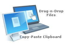remote File & Clipboard transfer