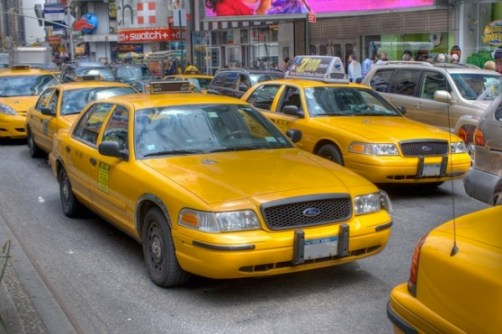 New York City Taxi Cab GetTaxi Service