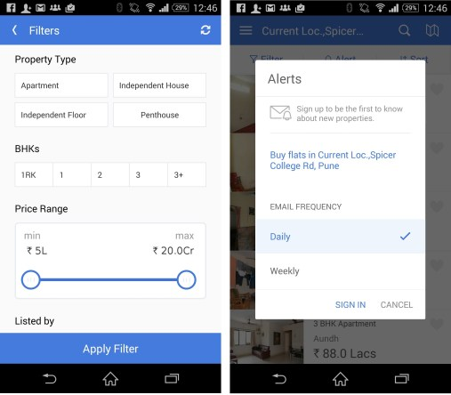 Easy Customize housing app