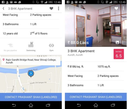 LOCATION Based Property Search