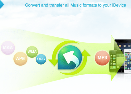 Convert Music iphone transfer