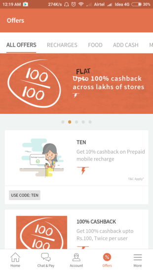 freecharge support