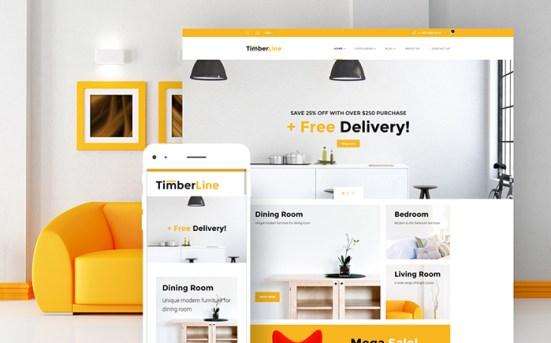 Timberline - Furniture Store WooCommerce Theme