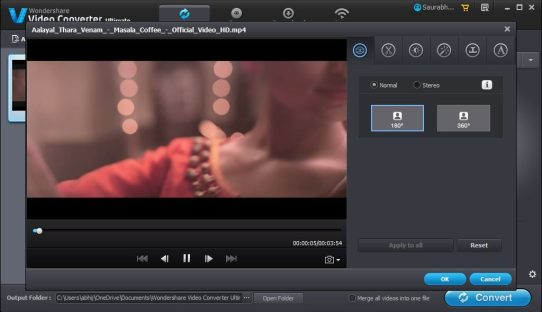 Wondershare Video Converter Ultimate Video Editor