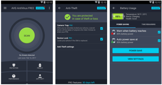 AVG AntiVirus FREE for Android - Android Apps on Google Play