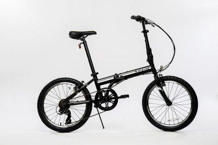 EuroMini Campo Lightweight Aluminum Frame Shimano 7 Speed 28Lb Folding Bike