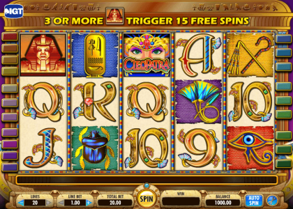 Play-CLEOPATRA-slot-game-3