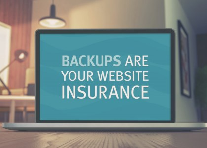 Website-backup-solution