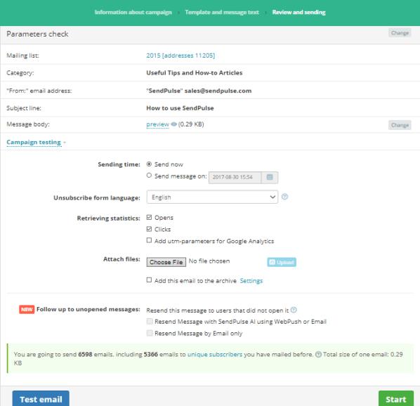 SendPulse Marketing Automation