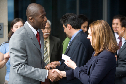 Business Card Exchange Conference