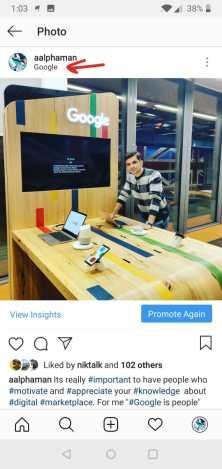 Sell on Instagram strategies-location-option
