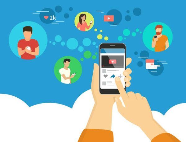 Video testimonials social media sharing