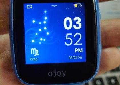 Ojoy A1 4G LTE GPS Smartwatch Screen