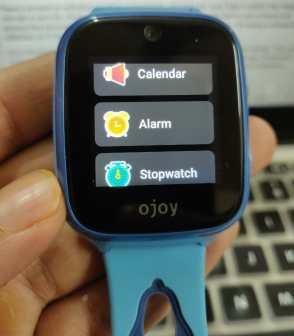 Ojoy A1 4G LTE GPS Smartwatch Utilities