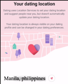 Facebook Dating Profile Location Setup 2
