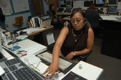 Centro del 911 del Tennessee