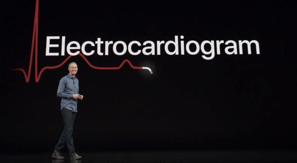 Annuncio Apple Watch ECG Elettrocardiografo Digitale