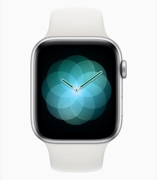 Apple Watch Series 4 App Anti-stress Respirazione