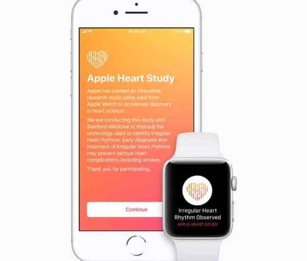 Apple e Stanford Presentano i Risultati Preliminari dell'Apple Heart Study