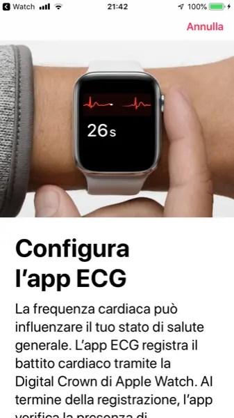 Come Effettuare un ECG sull'Apple Watch