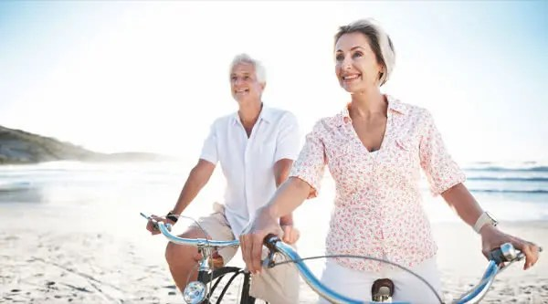 SmartWatcher - Coppia di Anziani in Bicicletta