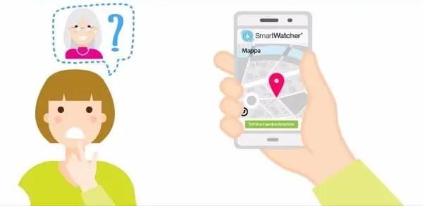 Soccorritore Individua Persona con SmartWatcher