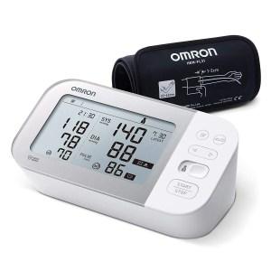 OMRON X7 Smart Misuratore di Pressione da Braccio, Rilevatore di Fibrillazione Atriale, con Bracciale Intelli Wrap, Bluetooth e AFIB