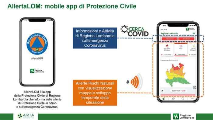 AllertaLOM: Mobile App di Protezione Civile Lombardia