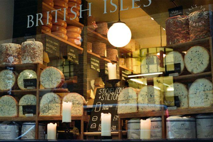 Neal's Yard, famosa tienda de quesos en la que se inspiró Lush