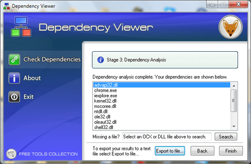 Dependency Viewer