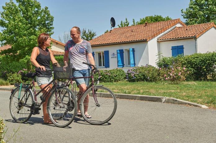 op vakantie met de fiets