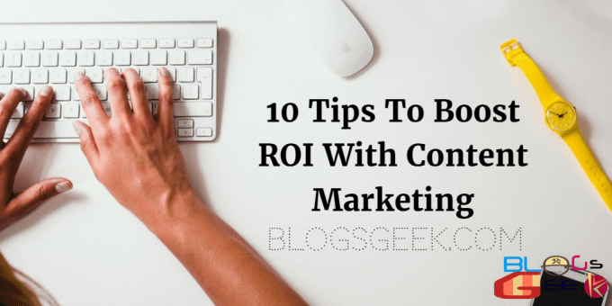how to boost ROI