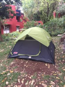 Accomodation in Tents at Nirvana Adventures