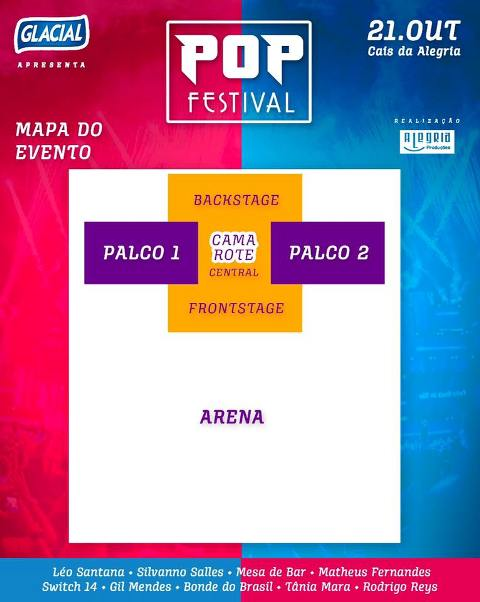 1 edio do Pop Festival ter 10 shows e mais de 10 horas