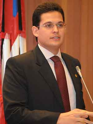 Deputado estadual Alexandre Almeida (PTN)