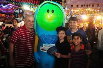 Sinalito, Andre Campos e a familia Soares